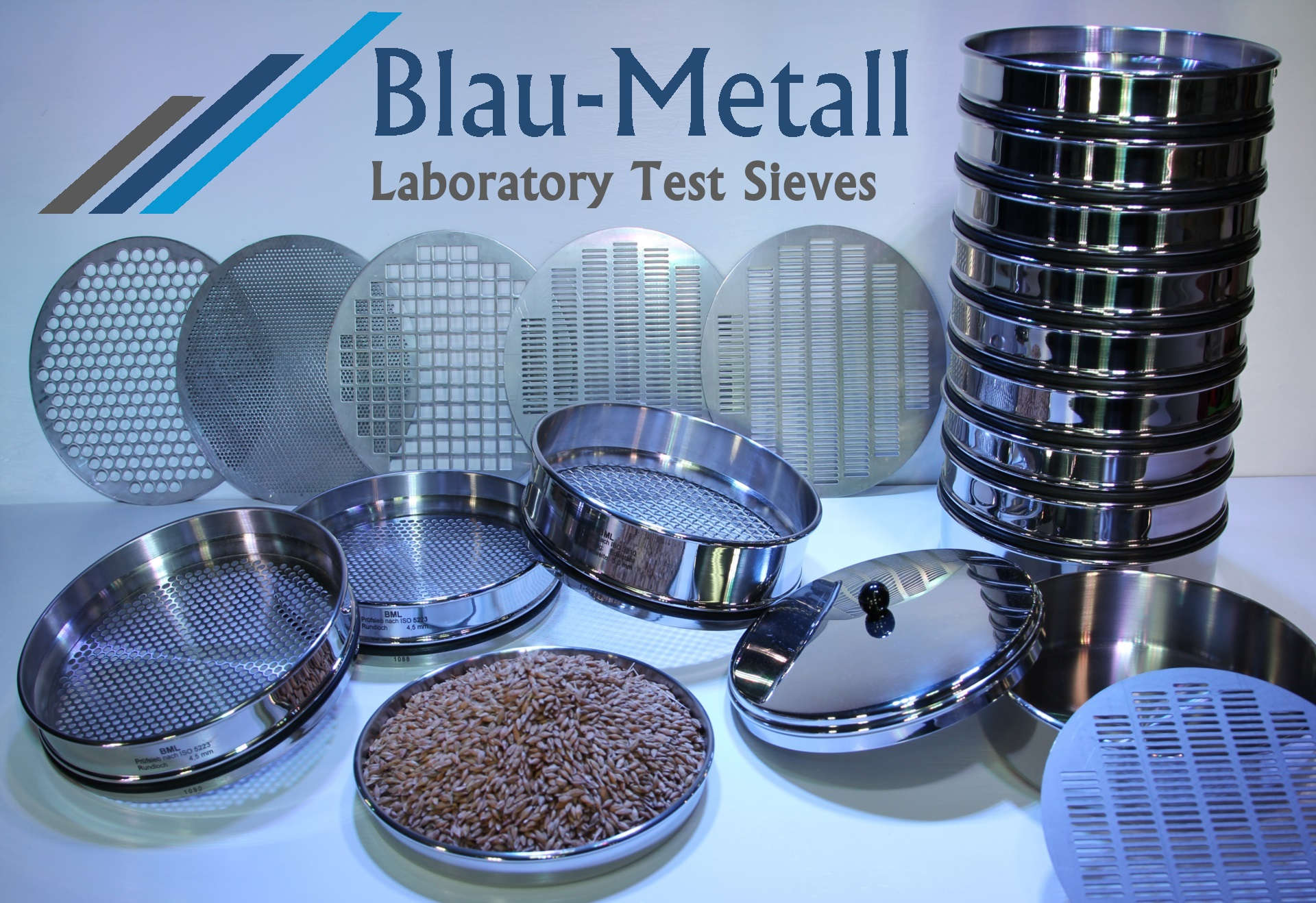 Blau-Metall Laboratory Sieves
